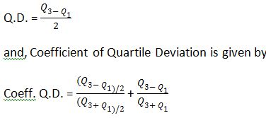 Semi- Inter Quartile Range