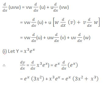 Product Rule of Differentiation